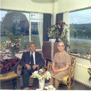 Gerrit Teunissen en Hendrika Brink